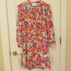 Beautiful floral dress.